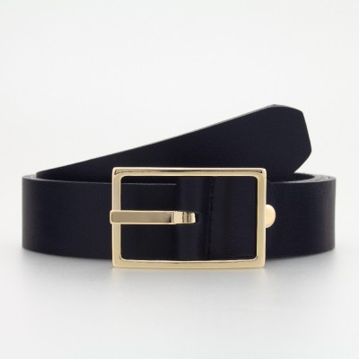 Cintura elegante in pelle