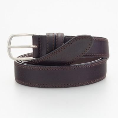 Classica cintura elegante in pelle