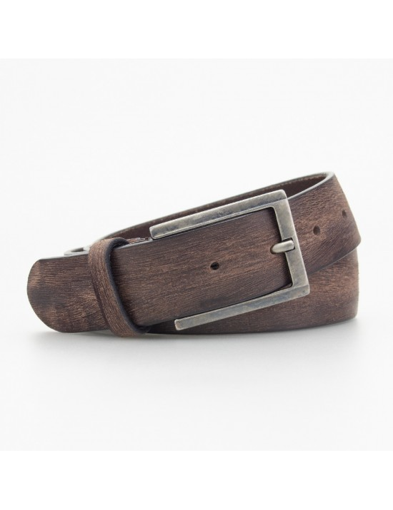 Cintura vintage in pelle