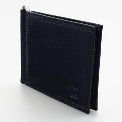 Portafoglio slim con molla ferma banconote