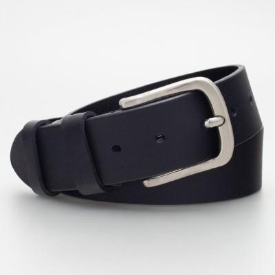 Cintura in cuoio 4cm colore NERO