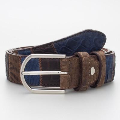 Cintura in cocco 3.5cm lavorazione patchwork